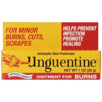 2 Pack - Unguentine Ointment for Burns Antiseptic Skin Protectant 1 oz Each