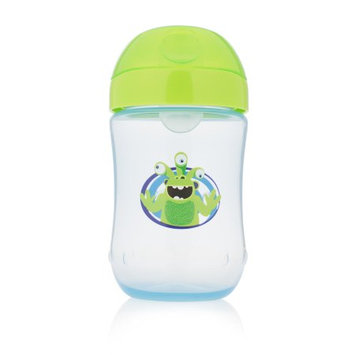 Handi-craft Company Dr. Brown's Soft-Spout Toddler Cup, Monster Blue, 9 Ounce, Single