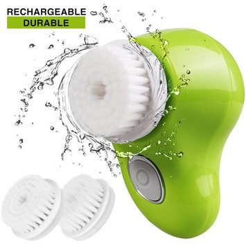 Facial Cleansing Brush Rechargeable Waterproof Deep Cleaning Pore face cleansing brush Exfoliating Spin Face Scrubber Electric Exfoliator