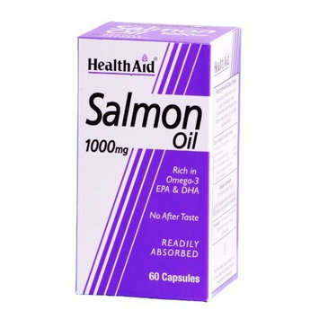 Health Aid Salmon Oil 1000mg 60 Capsules