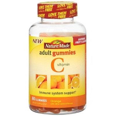 Nature Made Vitamin C Adult Gummies, Tangerine 80 ea