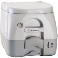 SeaLand 2.5 Gallon Full Size SaniPottie 975MSD Portable Toilet with Push Button Flush