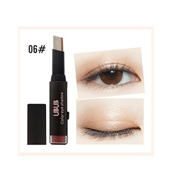 Sale!Pro Eyeshadow Stick,ZYooh Gradient Two-Color Eye Shadow Stick Shimmer Palette Eye Cream Pen Cosmetic Set