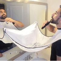 Beard Catcher Apron Beard Cape Bib and Beard Shaping Tool for Shaving Trim Shave Apron Bib For Men No Mess