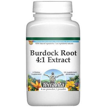 Extra Strength Burdock Root 4:1 Extract Powder (4 oz, ZIN: 511255)