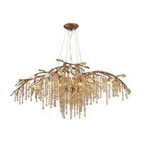Golden Lighting 9903-12 Autumn Twilight 12 Light Crystal Chandelier