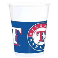 Amscan 429377 Texas Rangers Plastic Cups - Pack of 150