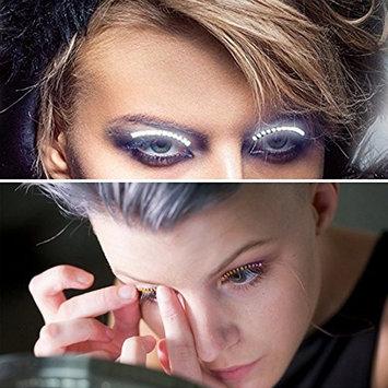 LED False Eyelid Eyelashes Light Up Waterproof Eyelid Lighting Flashes Suplerlight for Fashion Pub,Halloween