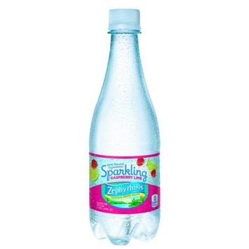 Nestle Zephyrhills Sparkling Natural Spring Water, Raspberry Lime, 16.9 Fl Oz, 24 Count
