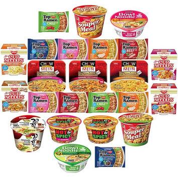 Ramen Instant Noodles Variety Pack Sampler (24 Count)