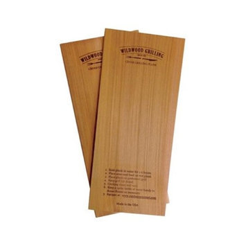 OUTDOOR GOURMET 90270 CEDAR WOOD GRILLING PLANKS, 5 X 11