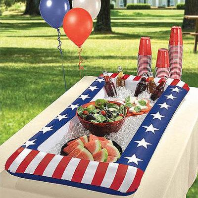 Patriotic Inflatable Cooler