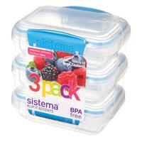 Sistema KLIP IT 6.7 Oz. Food Storage Containers (Set of 3)