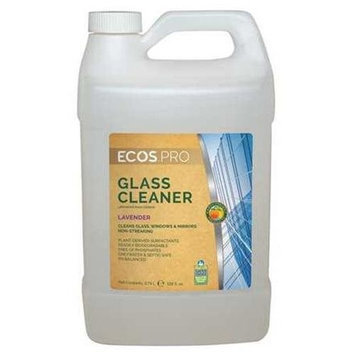 EARTH FRIENDLY PRODUCTS PL9301/04 Glass and Surface Cleaner,1 gal.