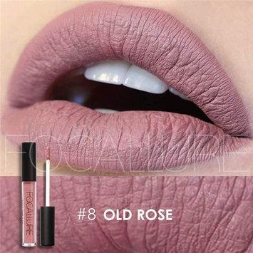 Purple Lipstick Matte Lipgloss Makeup Womens Stay On Lip Gloss Glossier Long Lasting Colorful Liquid Waterproof Lip Stick