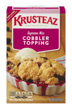 Krusteaz Supreme Mix Cobbler Topping