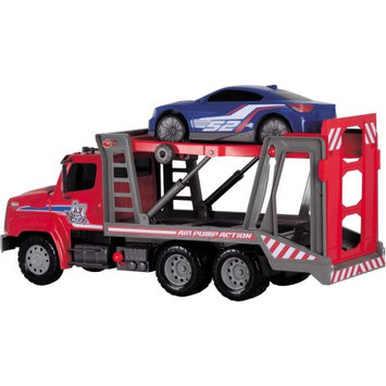 Dickie Toys 22-in. Air Pump Car Transporter (Red)