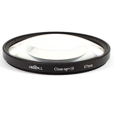 67mm Close-up Macro Lens Filter +10 for Digital Camera