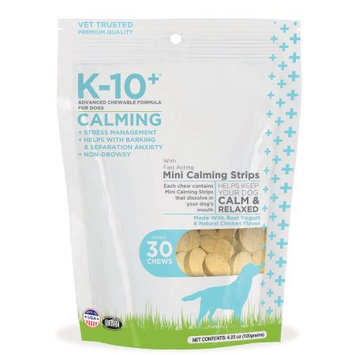 K-10+ Advanced Chewable Grain Free Calming Formula Dog Chews