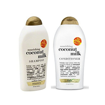 Organix: Nourishing Coconut Milk Shampoo + Conditioner (Combo Pack)