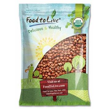 Food to Live Organic Hazelnuts / Filberts (Raw, No Shell) (8 Pounds)