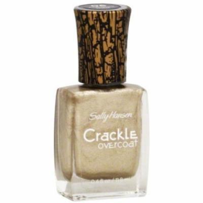 Sally Hansen 06 Antiqued Gold Crackle Overcoat - Case Pack of 12