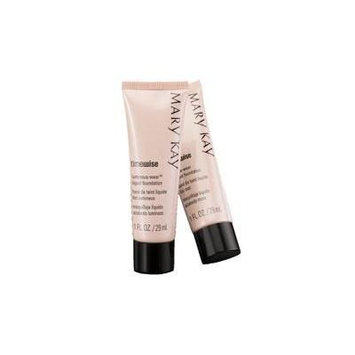 Lot / Set of TWO Mary Kay Timewise Luminous Wear Liquid Foundation Ivory 4 Normal to Dry Skin Full Size