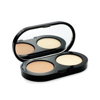 Bobbi Brown New Creamy Concealer Kit - Natural Creamy Concealer + Pale Yellow Sheer Finish Pressed Powder 3.1g...
