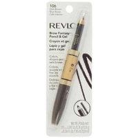 Revlon Brow Fantasy, Pencil And Gel, 104 Dark Blonde, 0.04 Ounce (Pack of 2)