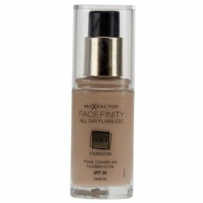 Max Factor Facefinity All Day Flawless 3 in 1 Foundation (SPF20) - 60 Sand