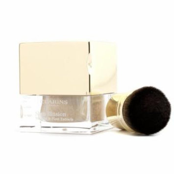 Skin Illusion Mineral & Plant Extracts Loose Powder Foundation (With Brush) - # 107 Beige 13g/0.4oz