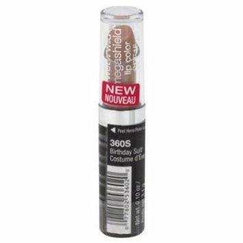 Wet N Wild Megashield Spf 15 Lip Color 360S Birthday Suit (Pack of 3)