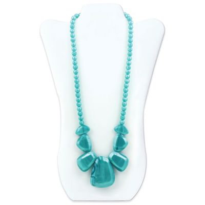 Rocca Silicone Teething Necklace - Bumkin - Aquamarine New SJR-AQM