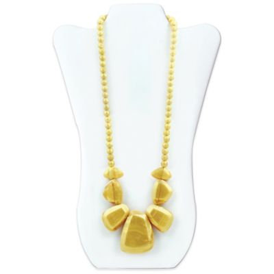Rocca Silicone Teething Necklace - Bumkin - Gold New SJR-GLD