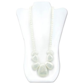 Rocca Silicone Teething Necklace - Bumkin - Opal New SJR-OPL