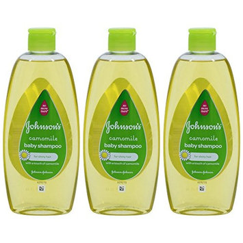 Johnson's Baby Shampoo No More Tears with Chamomile for Light Shiny Hair