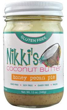 Nikkis Nikki's Gluten Free Coconut Butter Honey Pecan Pie - 12 oz pack of 2