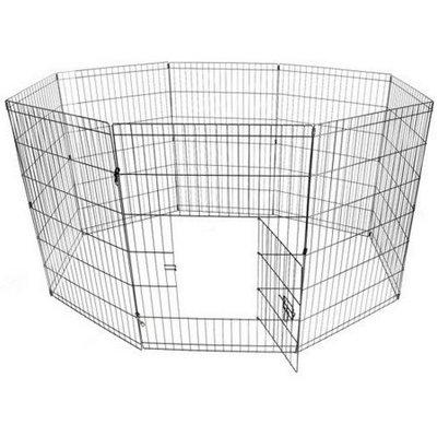 Aleko SDK-24B Dog Playpen Crate Fence
