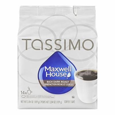 Tassimo Maxwell House Dark Roast - Custom Roasts Collection - 14 T Discs