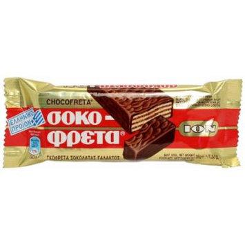 ION Greek Traditional Chocofreta - 20 Bars X 38g