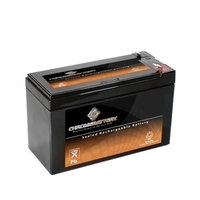 BATTERY REPL. RITAR RT1270.HAZE HZS12-7.4 F2 12V 7.4AH