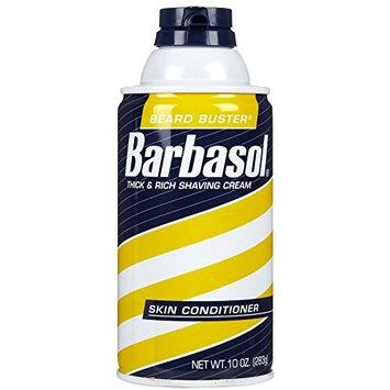 Barbasol Mens Shave Cream Skin Conditioner, Size : 10 Oz