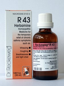 Herbamine R43 50 ml by Dr. Reckeweg