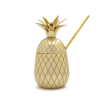 Mason Shaker Pineapple Pint Tumbler - Metallic