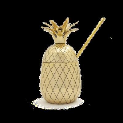 Mason Shaker Pineapple Pint Tumbler - Metallic