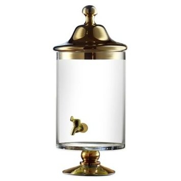Jay Companies Bella Beverage Dispenser in Gold or Silver