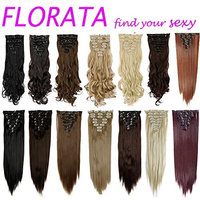 Real Synthetic Hair Extensions 23