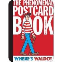 Candlewick Press Where's Waldo? The Phenomenal Postcard Book