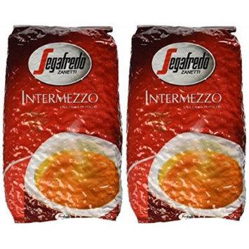 Segafredo Intermezzo Whole Beans Coffee 2 Bags X 17.6oz/500g