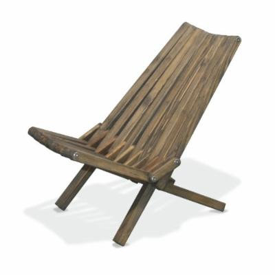 GloDea X36 Natural Lounge Chair, Wild Black